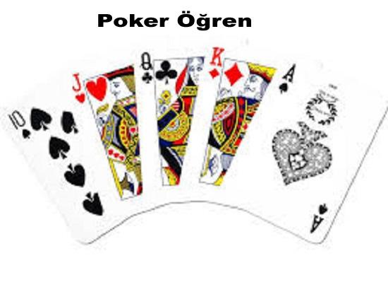 Poker öğren